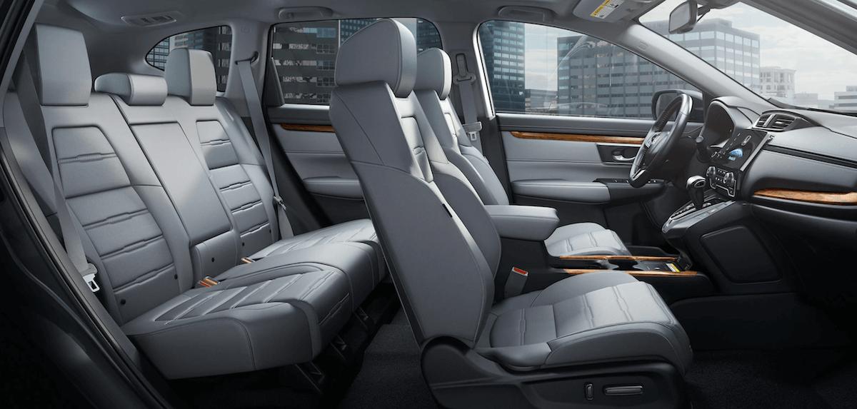 2021 Honda CR-V Interior Seating Cutaway Banner