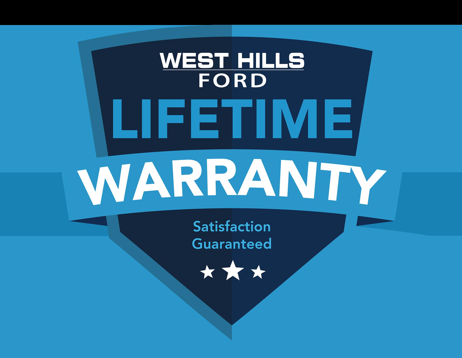 Lifetime Warranty West Hills Ford