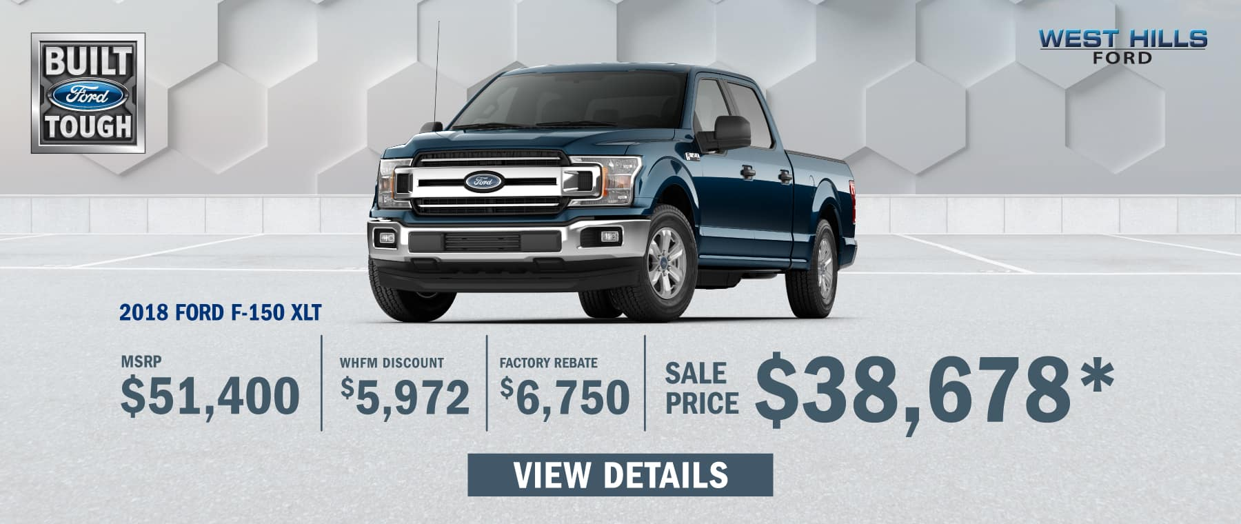 2018 Ford F-150 XLT (FEATURED VEHICLE)