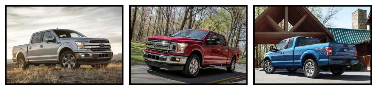 2019 Ford F-150 Trim Comparisons