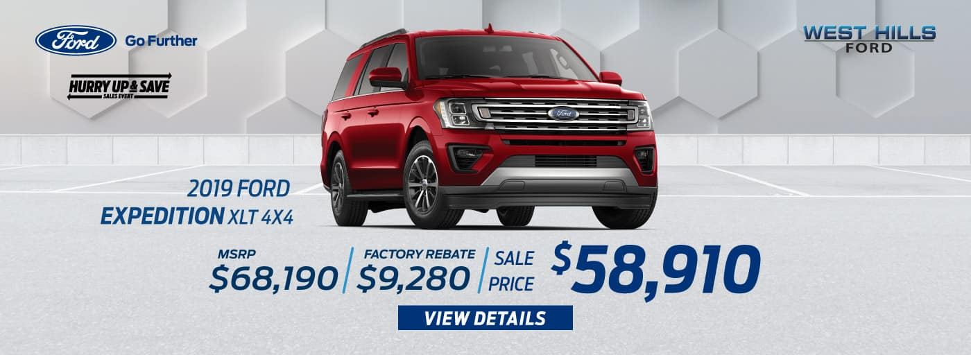 2019 Ford Ranger Lariat (featured vehicle)  1.9% for 60 mos.*   * Offer valid on 2019 Ford Ranger Lariat. 1.9% APR for 60 months. MSRP: $46,590. Valid on VIN: 1FTER4FH0KLA67585.Subject to credit approval. For Qualified 720+ Rated Credit through Ford Credit. $0 Security Deposit Required. APR $13.89/$1000 borrowed. Not all buyers will qualify. Down payment and monthly payment may vary. Excludes state and local taxes, tags, registration, title, insurance and dealer charges. See dealer for qualifications and complete details. A negotiable dealer documentary service fee of up to $150 may be added to the sale price or capitalized cost. Offer expires 9/3/19.