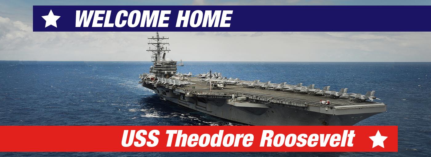 11855 – JUL21 – WHAP – Welcome Home USS Theodore Roosevelt – Webslides_1400x512 – Hyundai Ford Jeep Honda Kia