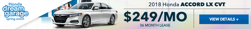 West Hills Honda Accord Lease Offer