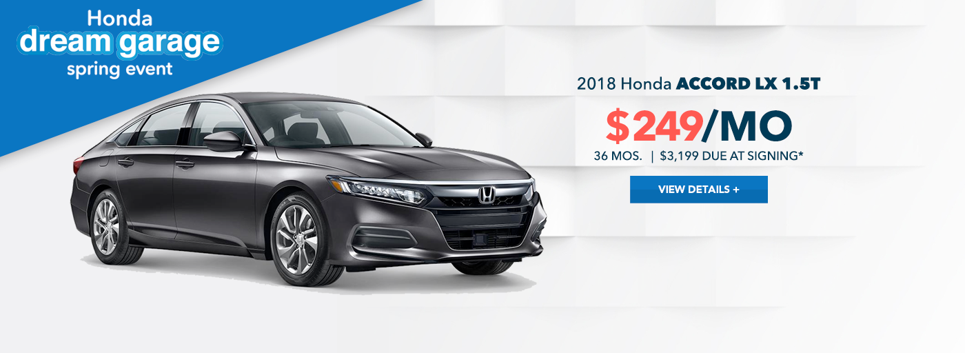 West Hills Honda Accord Special Offer