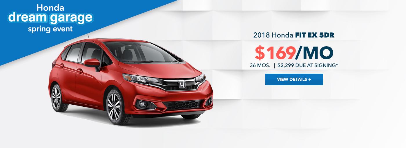 West Hills Honda Fit Offer