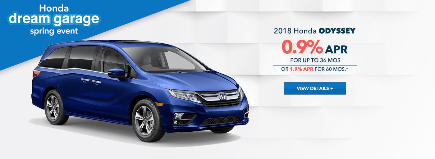 West Hills Honda Odyssey Special Offer