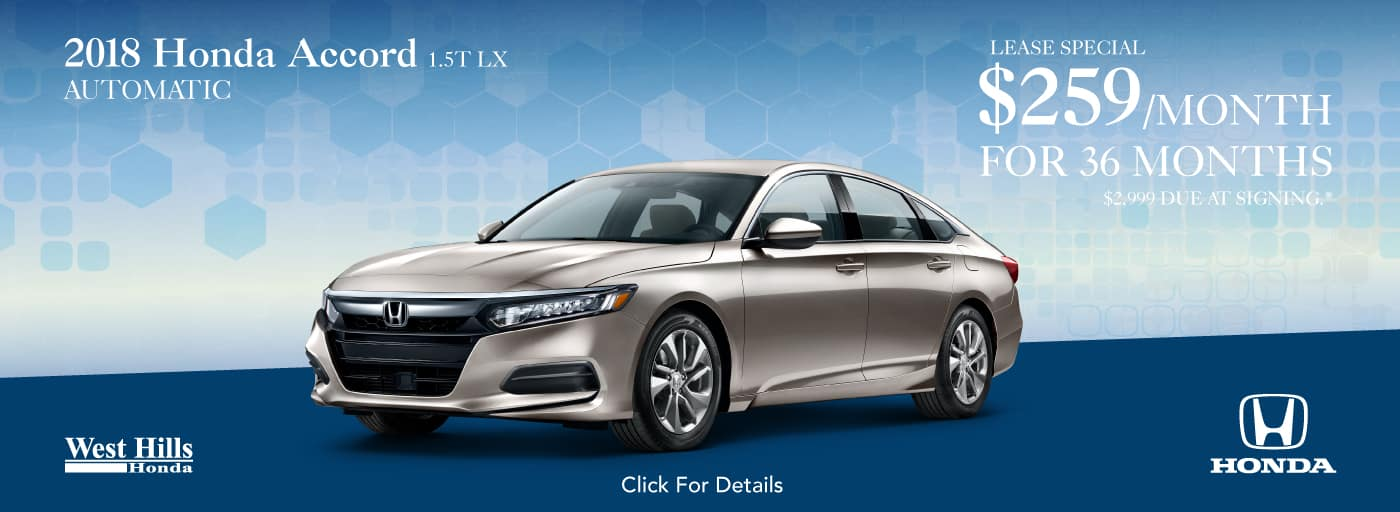 2018 Honda Accord 1.5T LX