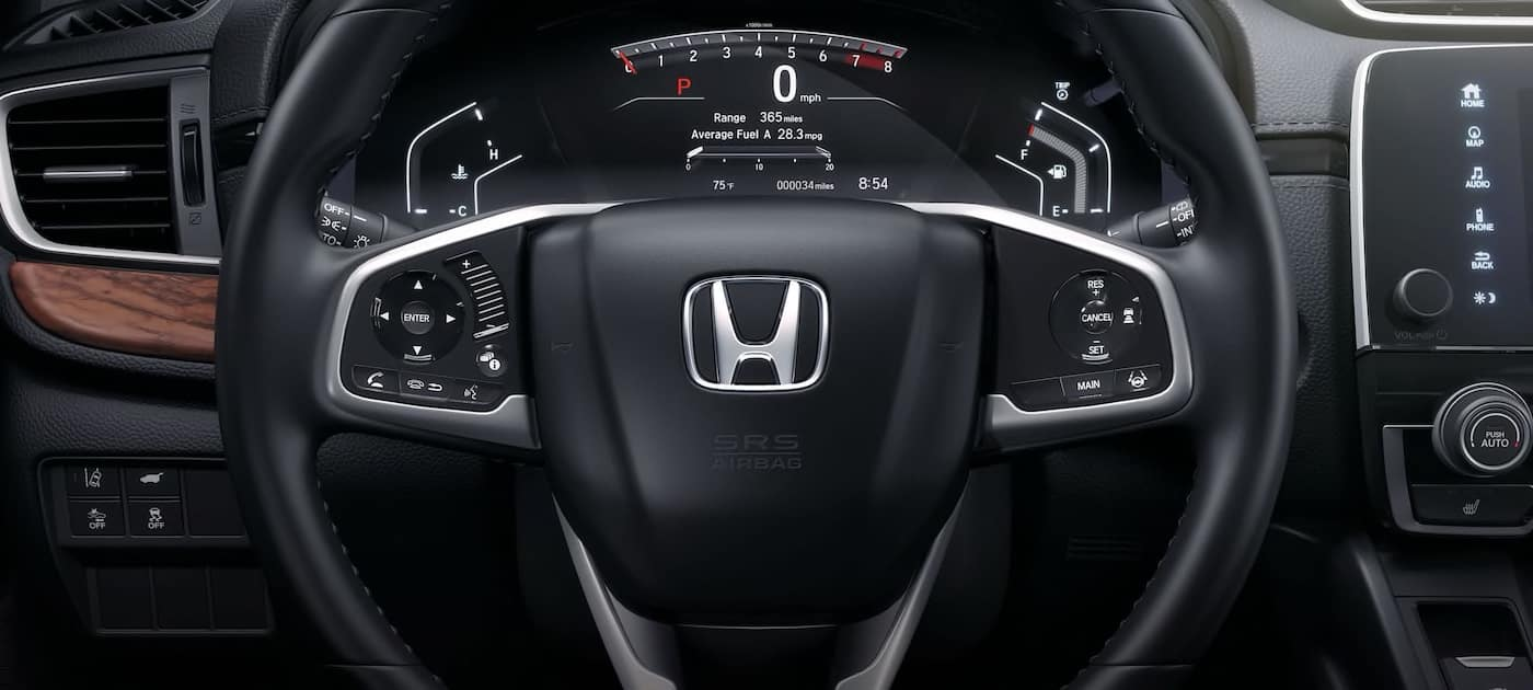 2019 Honda CR-V - Interior - Digital Readout