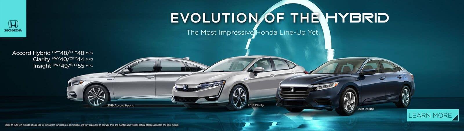 Evolution Of The Hybrid