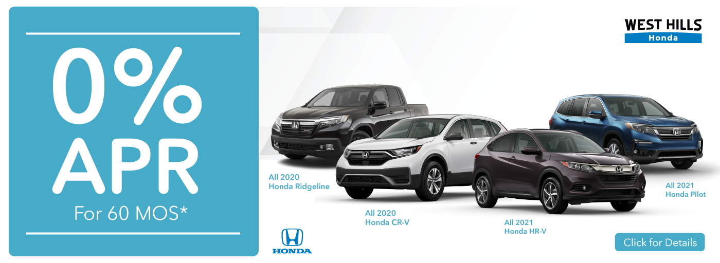 11768 – JAN21 – WHAP – Honda Incentives – Webslides_Honda Ridgeline CRV HRV Pilot – Web