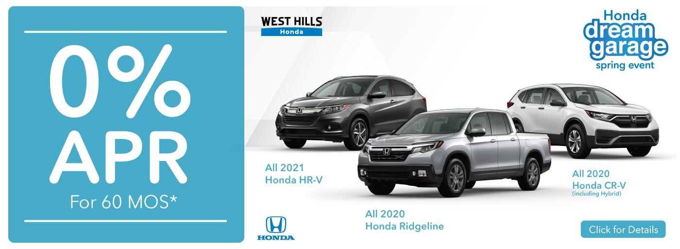 11768 – MAR21 – WHAP – Honda Incentives – Webslides_0 Percent 60 MOS – Web
