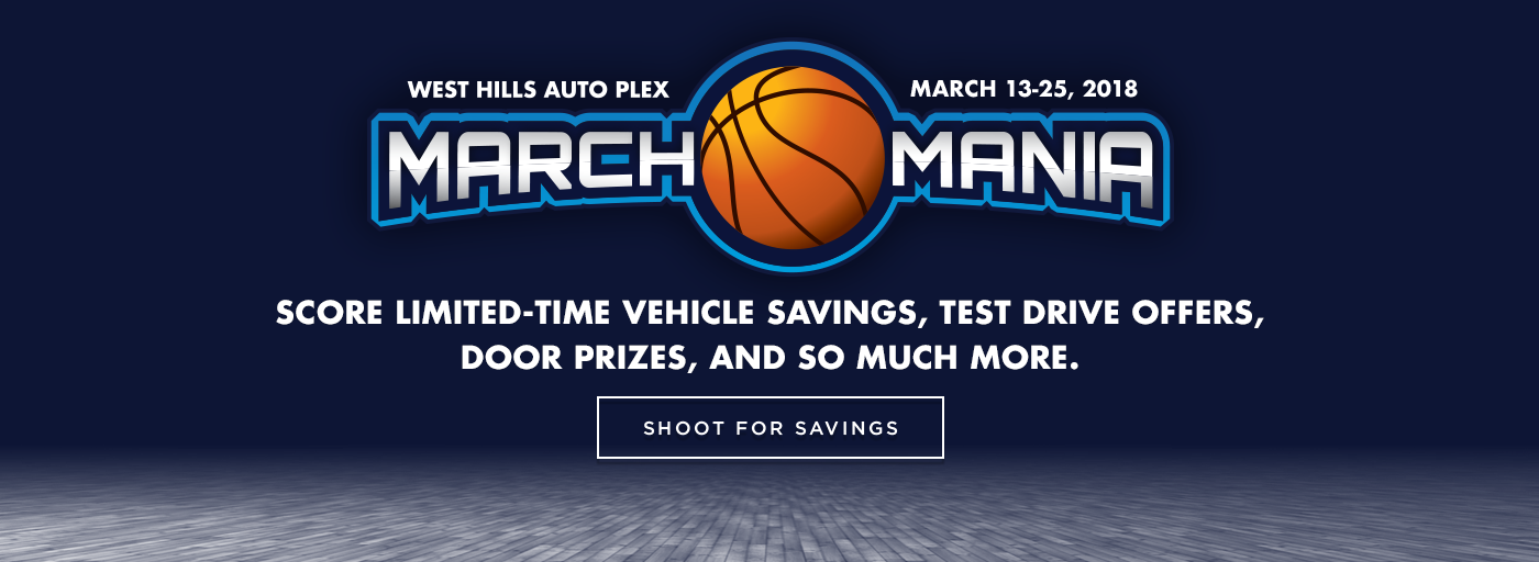 West Hills Mazda March Mania Sales Event