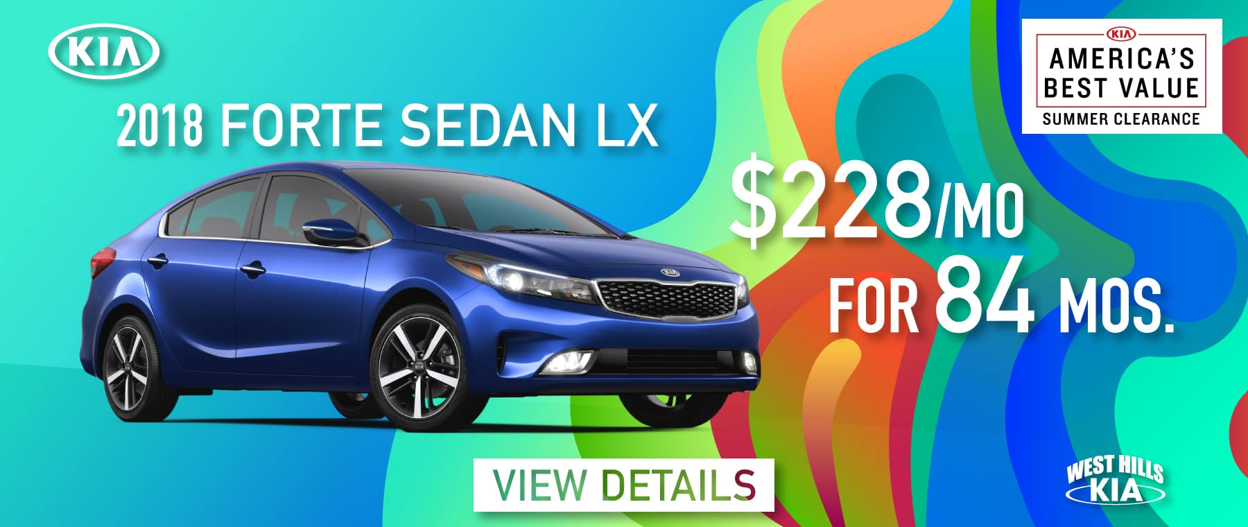 2018 Kia Forte LX Purchase for $228/mo. For 84 mos. *