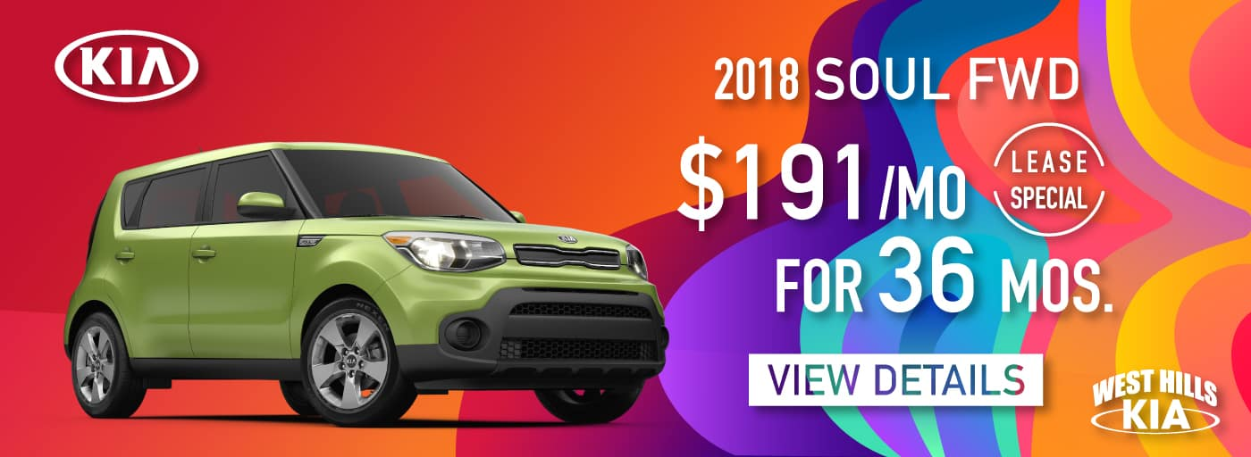 2019 Kia Sorento LX AWD Lease Special $245/mo. For 36 mos.