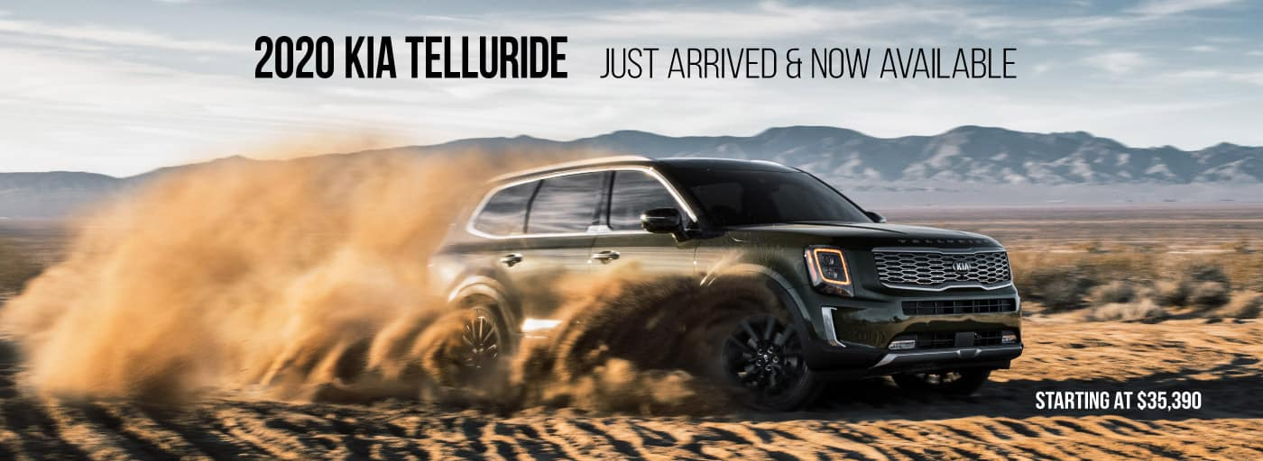 Just Arrived!  Now Available!!  2020 Kia Telluride.... has arrived!