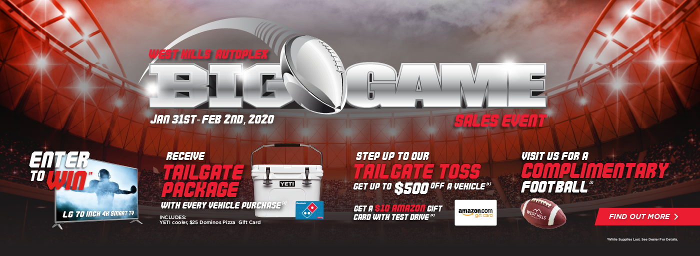 [1] Enter to win at participating dealerships  – (8) – customers have an opportunity to win a LG - 70