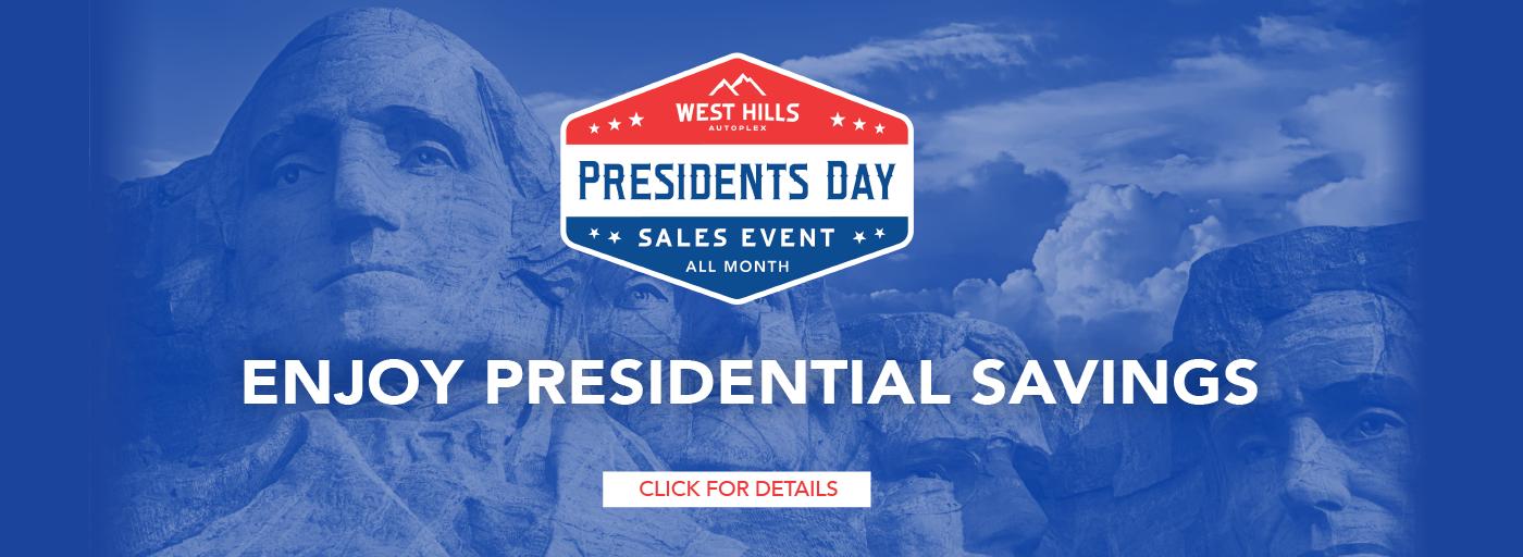 11769 – JAN21 – WHAP – Presidents Day Event – Webslides_Kia – 1400 x 512