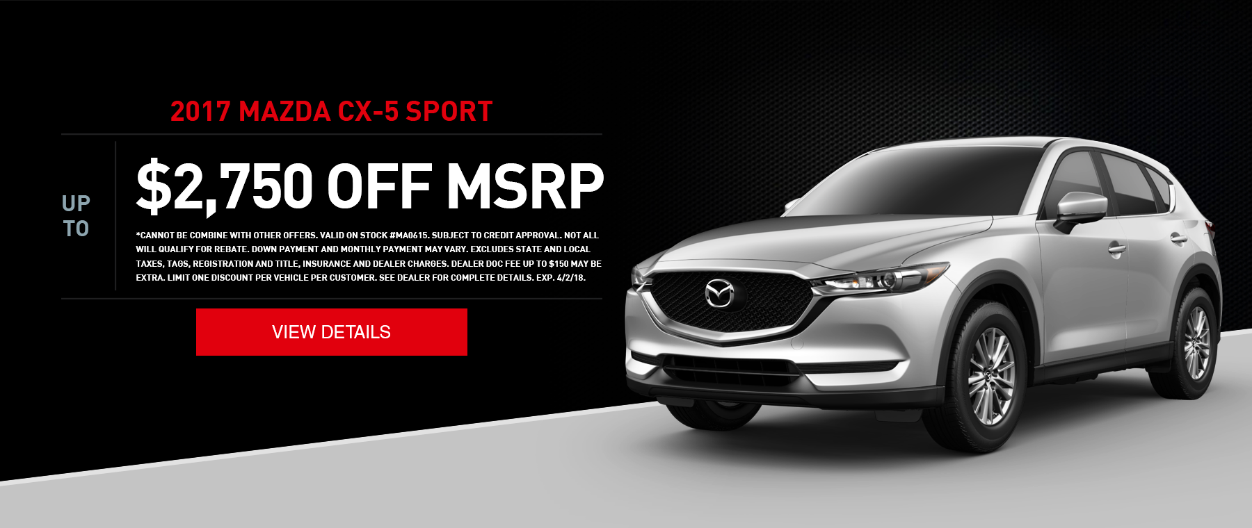 West Hills Mazda CX-5 Special Offer