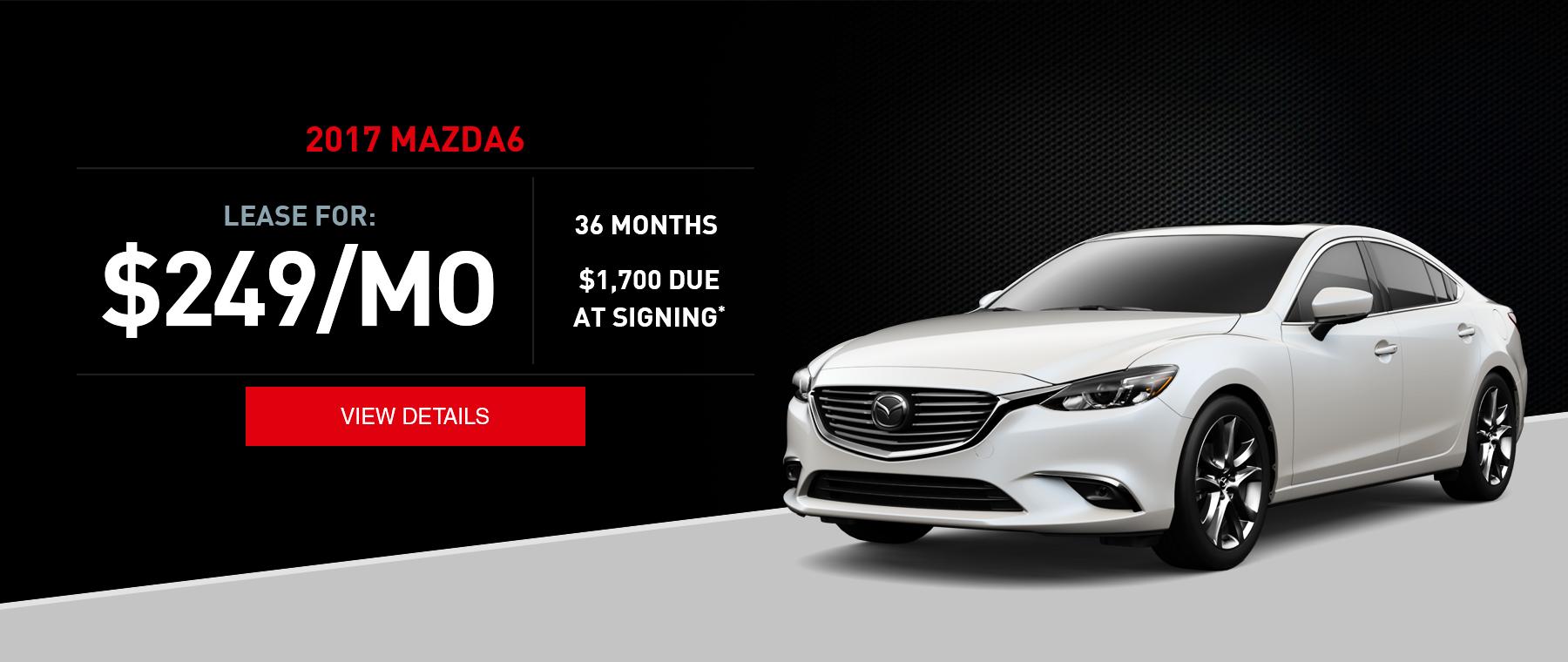 West Hills Mazda6 Lease Offer