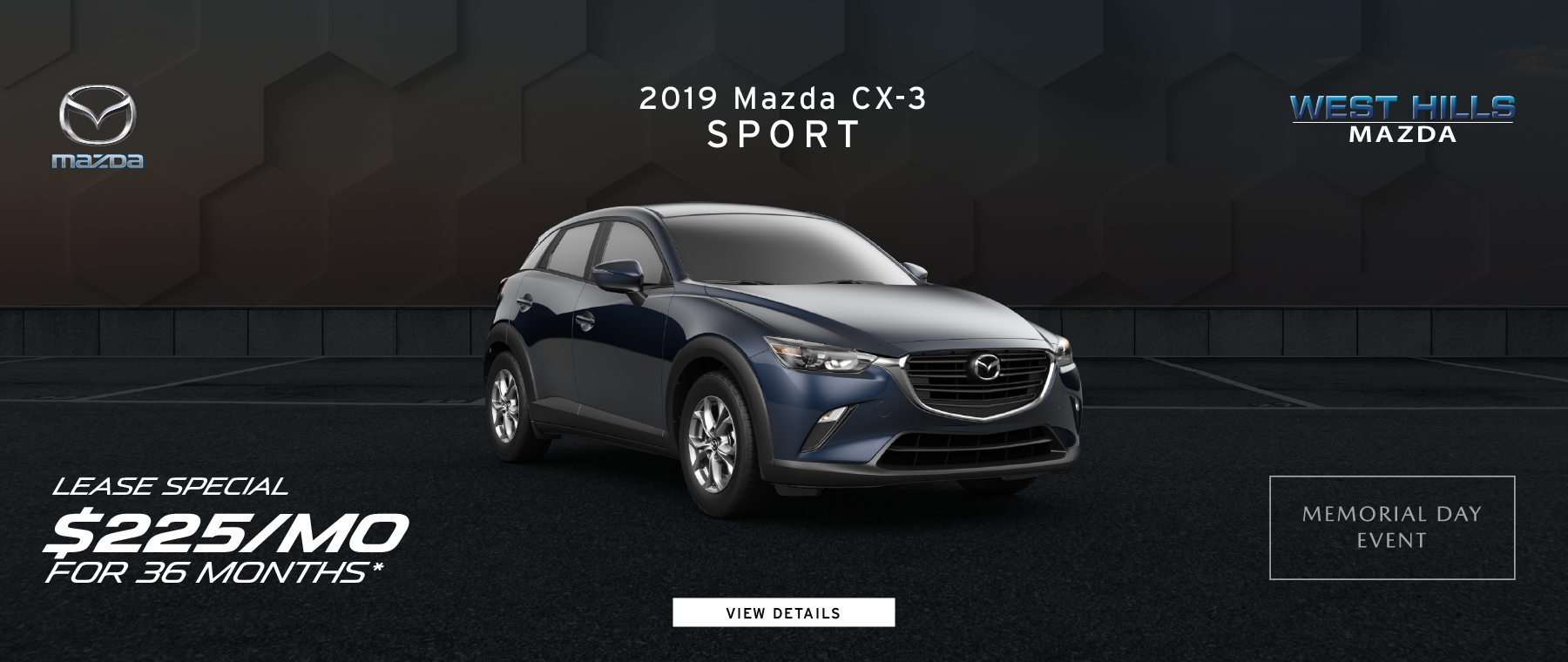 2019 Mazda CX-5 Sport $259/mo. for 36 mos.*