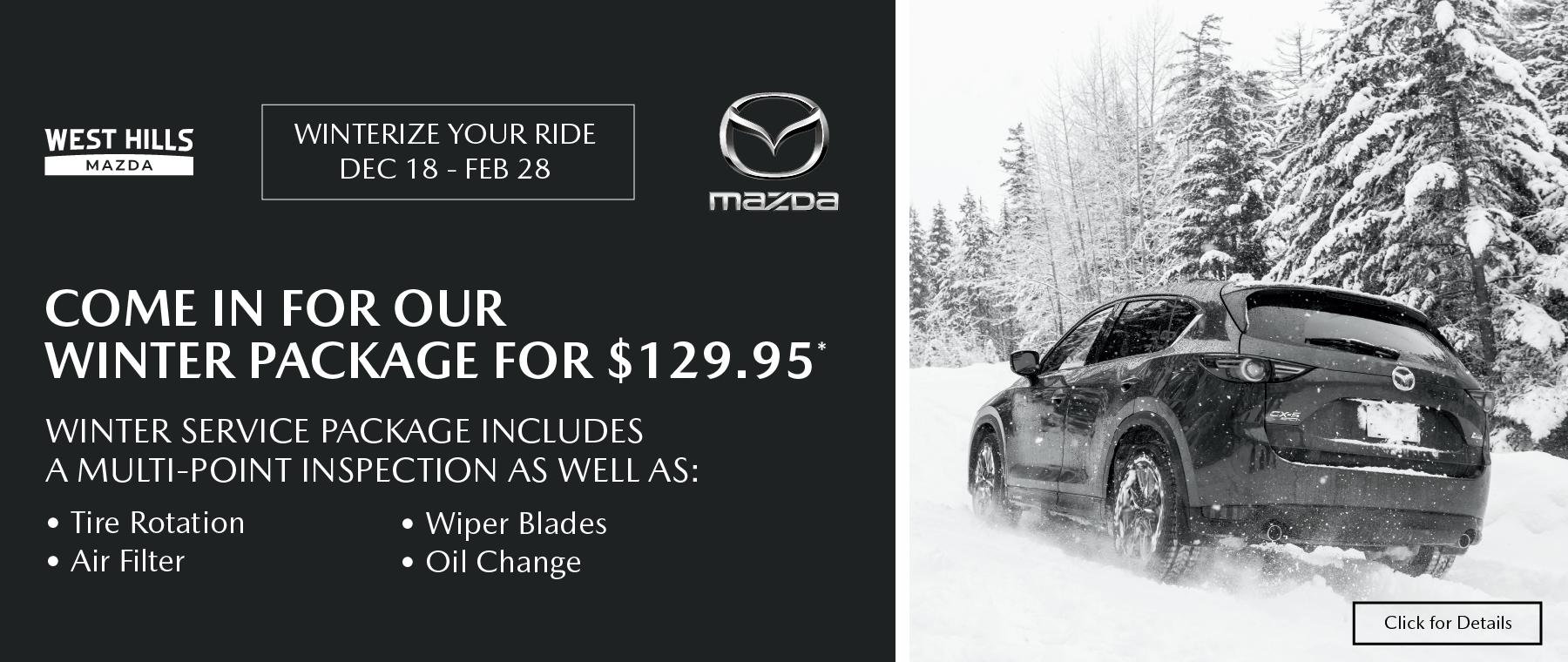 11748 – NOV20 – WHAP – Winter Service Campaign – Webslides_Mazda – 1800×760