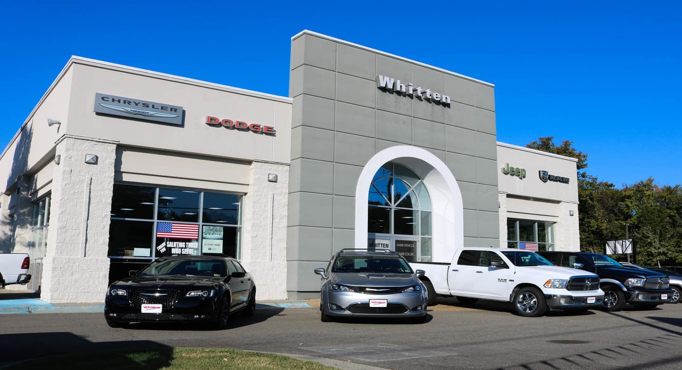 New Used Car And Truck Dealership At Whitten Brothers Of Ashland