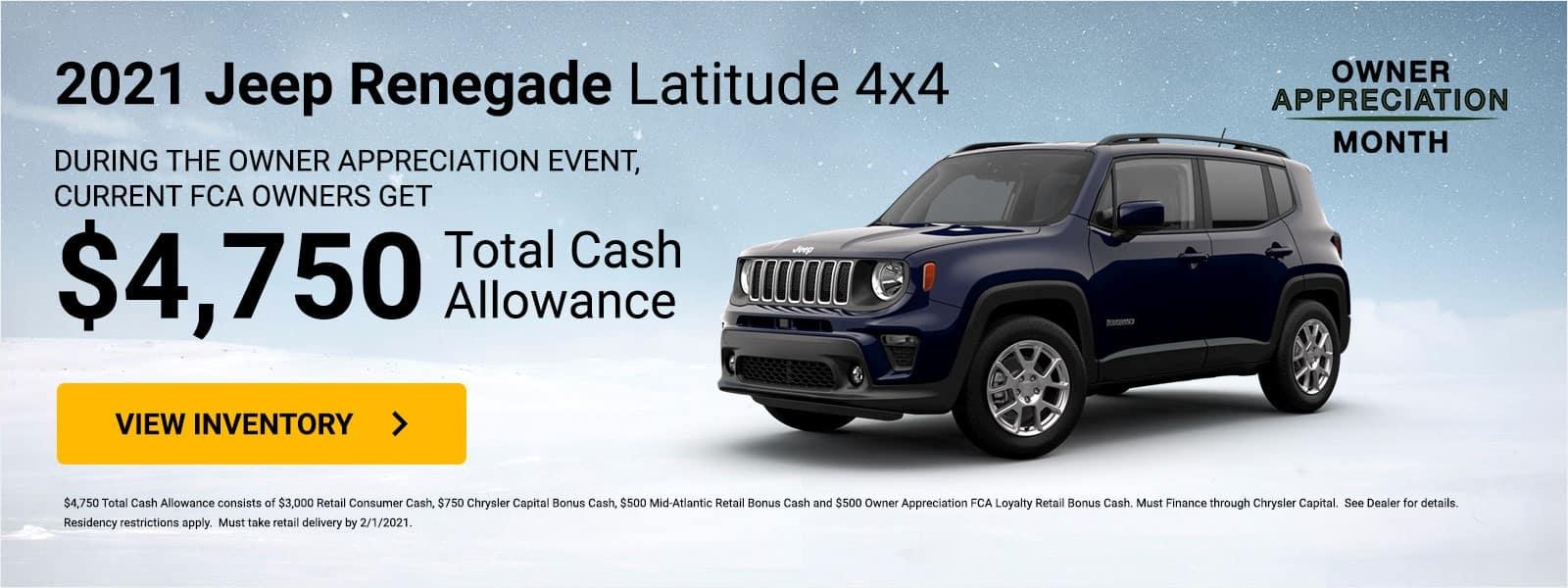 jeep-renegade-latitude-4×4 RETAIL (All Markets)