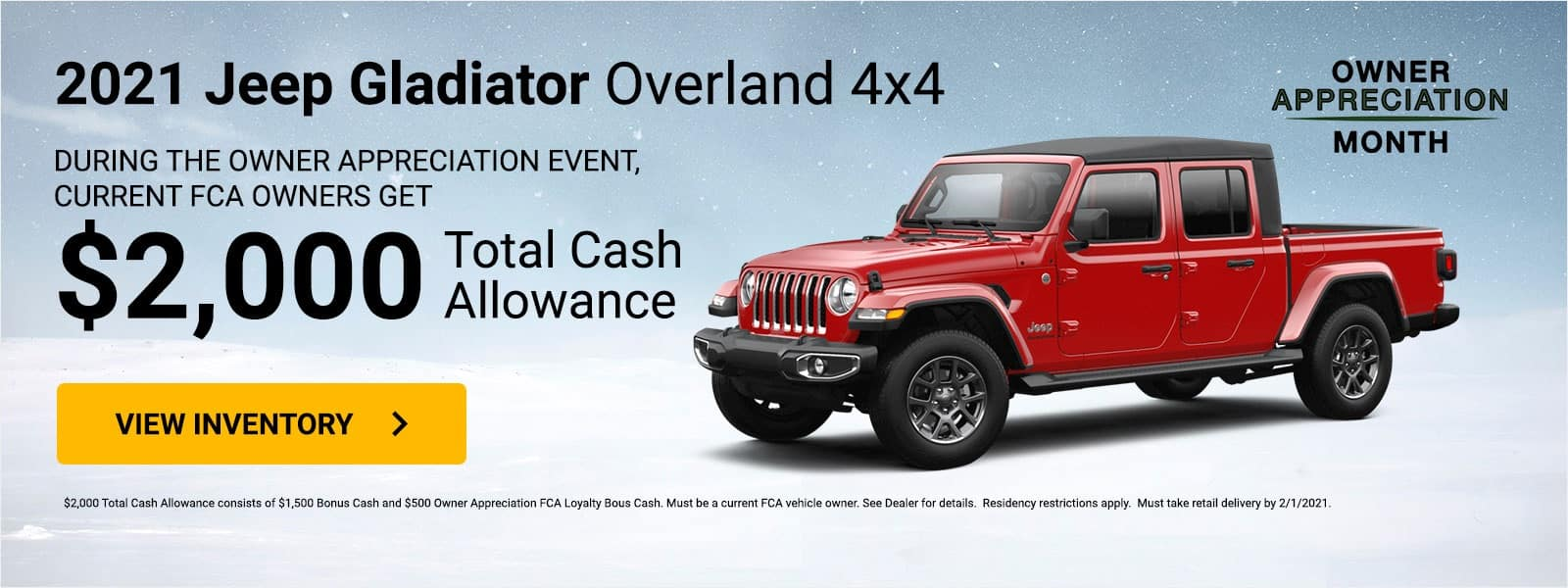 jeep-Gladiator-Overland-4×4 RETAIL (All Markets)