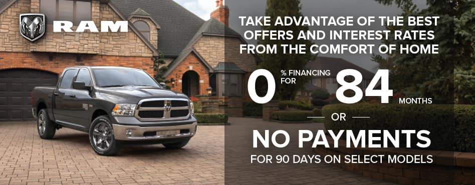 0% APR Financing For 84 Months or No Payments for 90 Days!