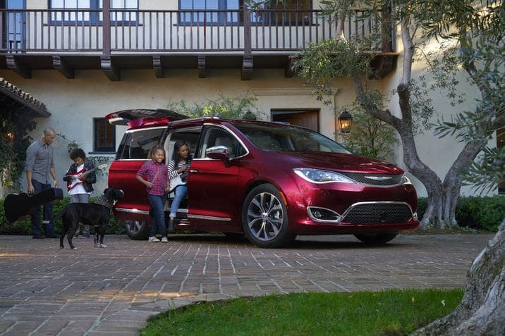 The Pacifica Wins Green Car of Texas