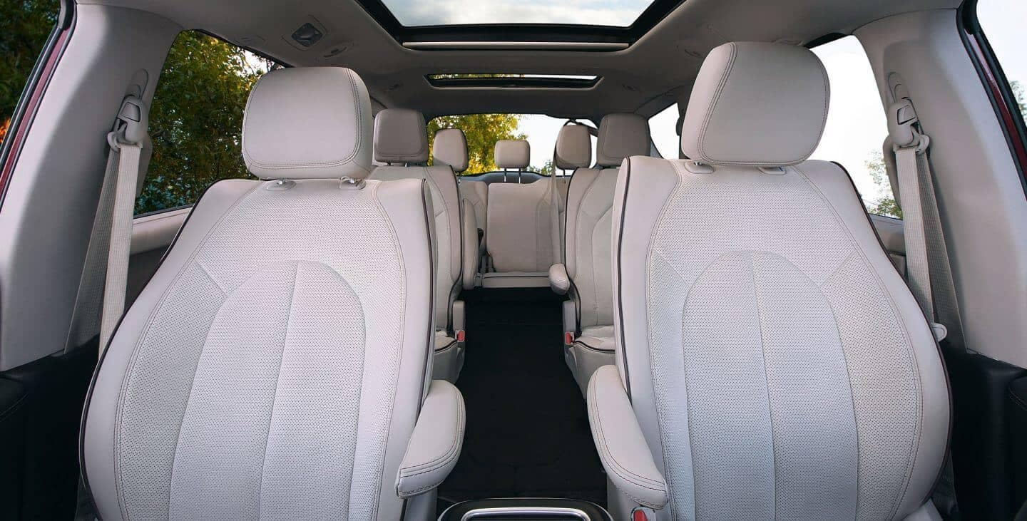 2018 Chrysler Pacifica interior seating