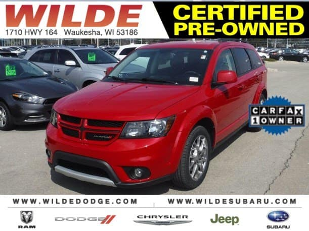 Certified Used 2015 Dodge Journey