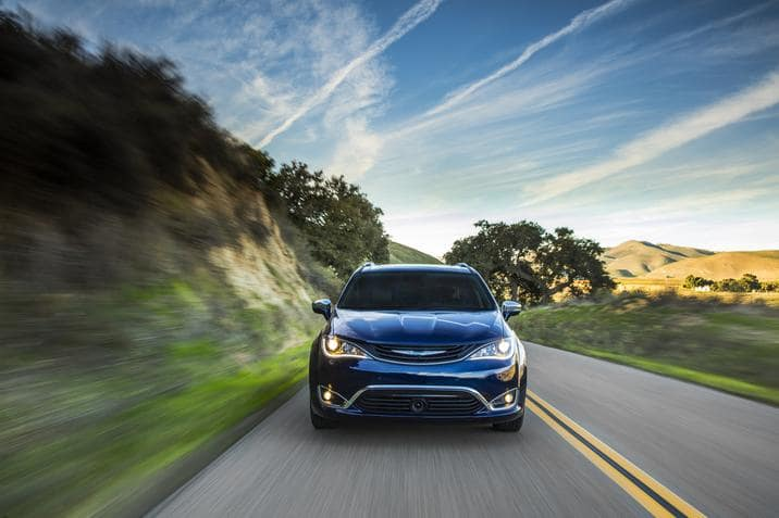The Chrysler Pacifica Hybrid Is The Northwest Green Vehicle Of The Year