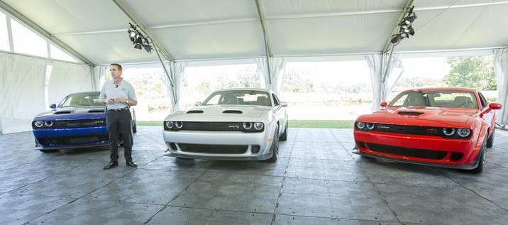 Dodge Announces Most Powerful SRT Hellcat Lineup Ever