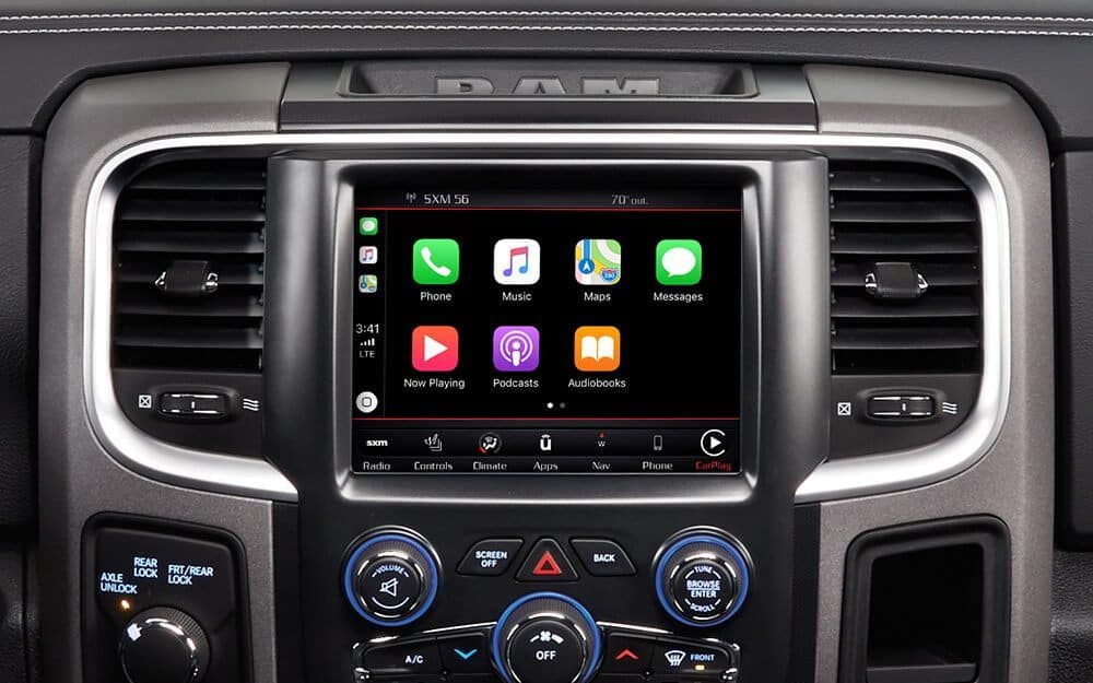How to Connect Apple CarPlay to a RAM 1500