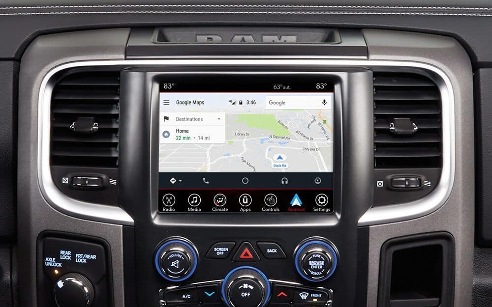 How to Connect Android Auto to a RAM 1500 | Wilde Chrysler